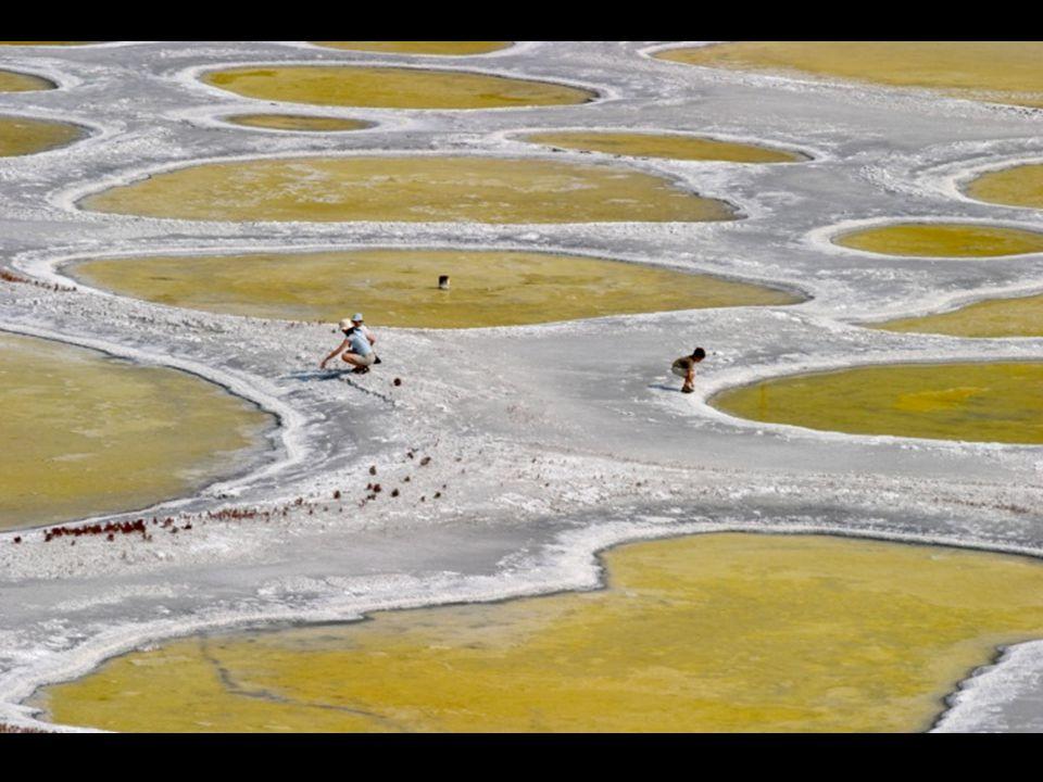 Gelegen tussen de Canadese provincie Brits Columbië en de Amerikaanse staat Washington is het water van het Klilukmeer rijk aan mineralen. Men ziet ci