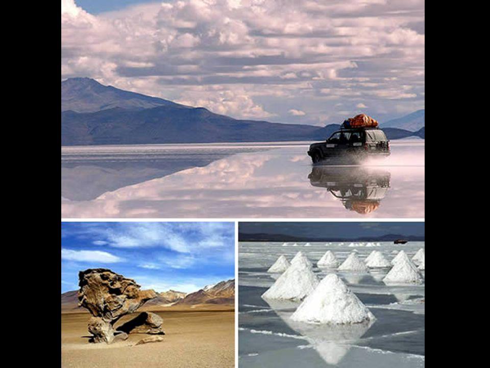 5. De zoutwoestijn van UYUNI (Bolivië)