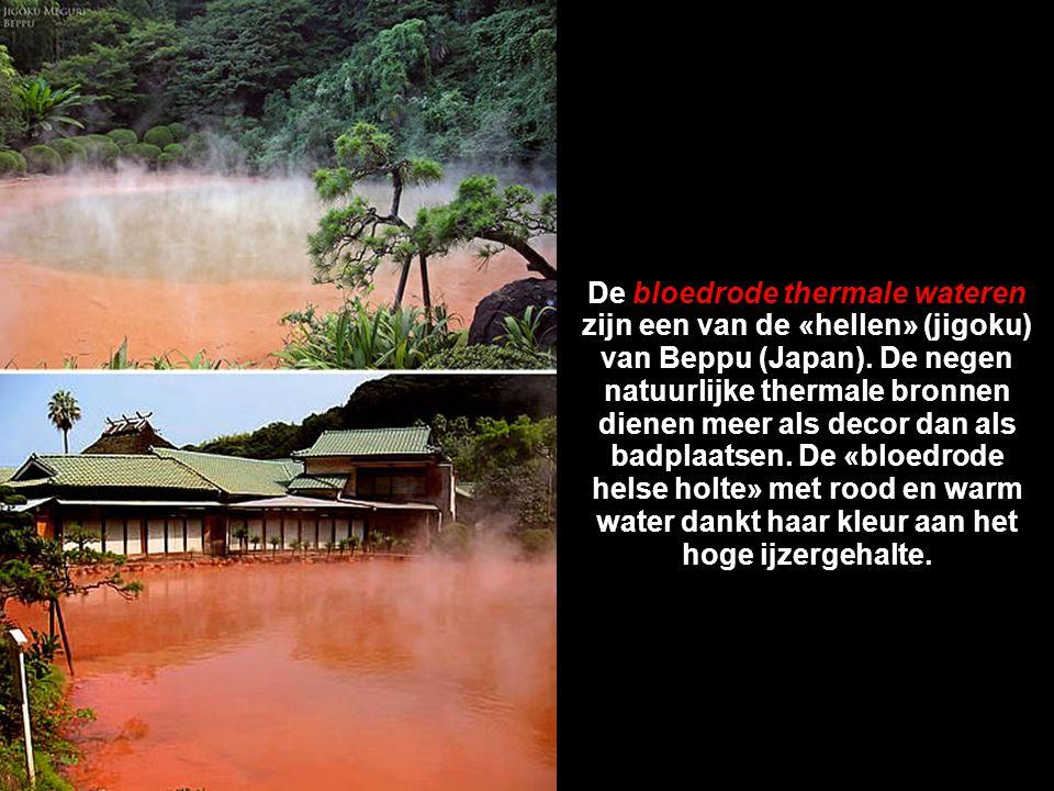 7. De bloedrode thermale wateren (Japan)
