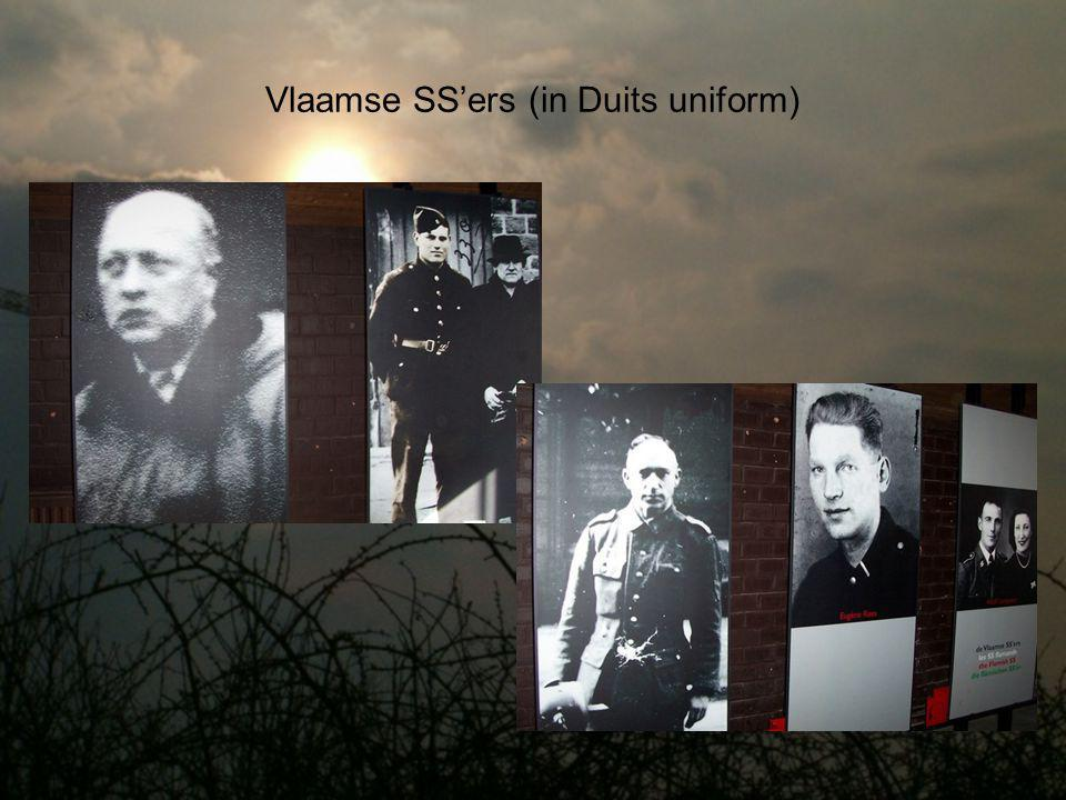 Vlaamse SS'ers (in Duits uniform)