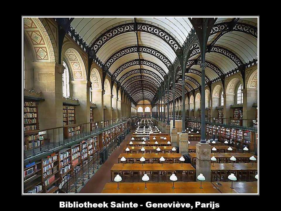 Bibliotheek van de Abdij van Waldassen, Beieren, Duitsland.