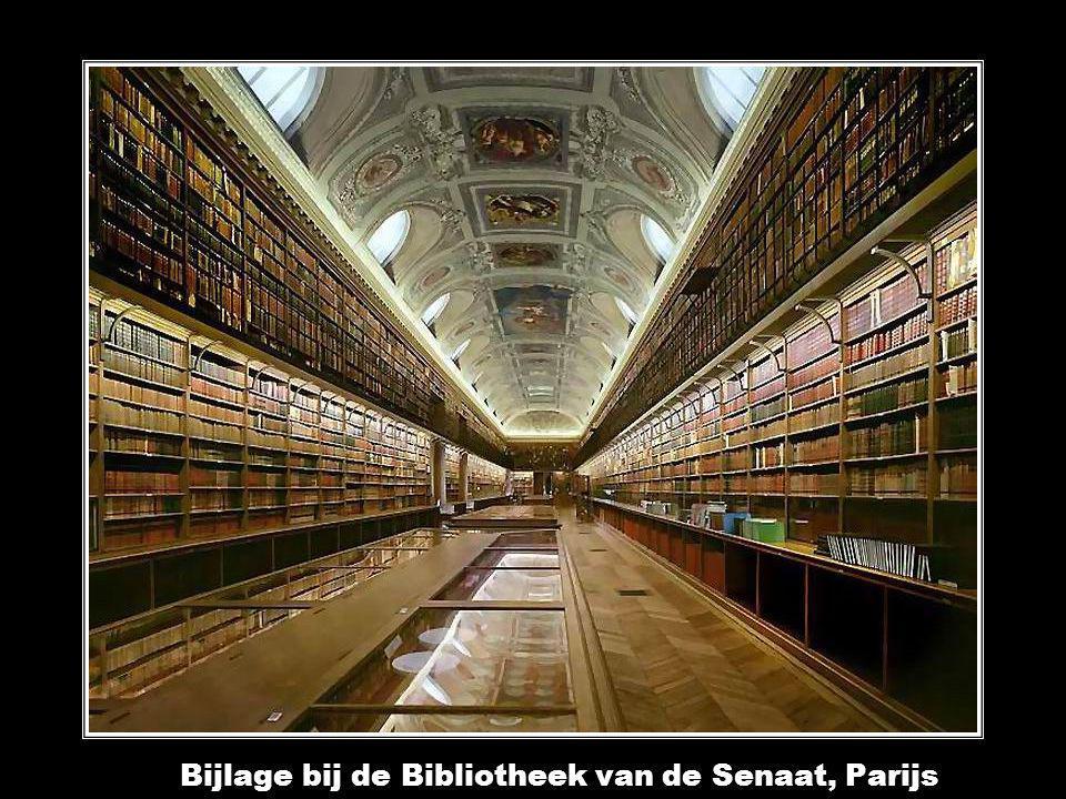 Nationale Bibliotheek van Frankrijk, site Richelieu, Ovale Kamer, Parijs Nationale Bibliotheek van Frankrijk, site Richelieu, Ovale Kamer, Parijs