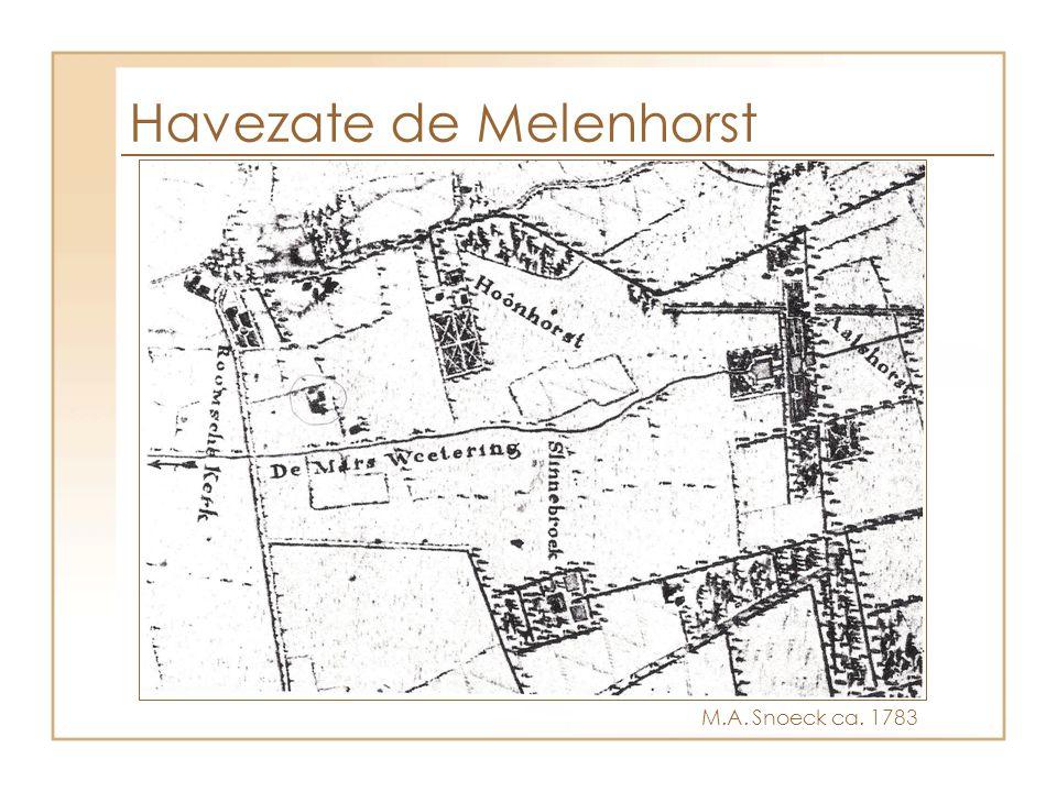 Havezate de Melenhorst M.A. Snoeck ca. 1783