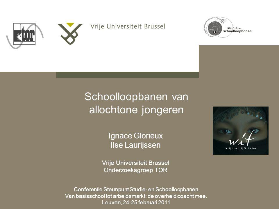 Conferentie Steunpunt Studie- en Schoolloopbanen Van basisschool tot arbeidsmarkt: de overheid coacht mee.