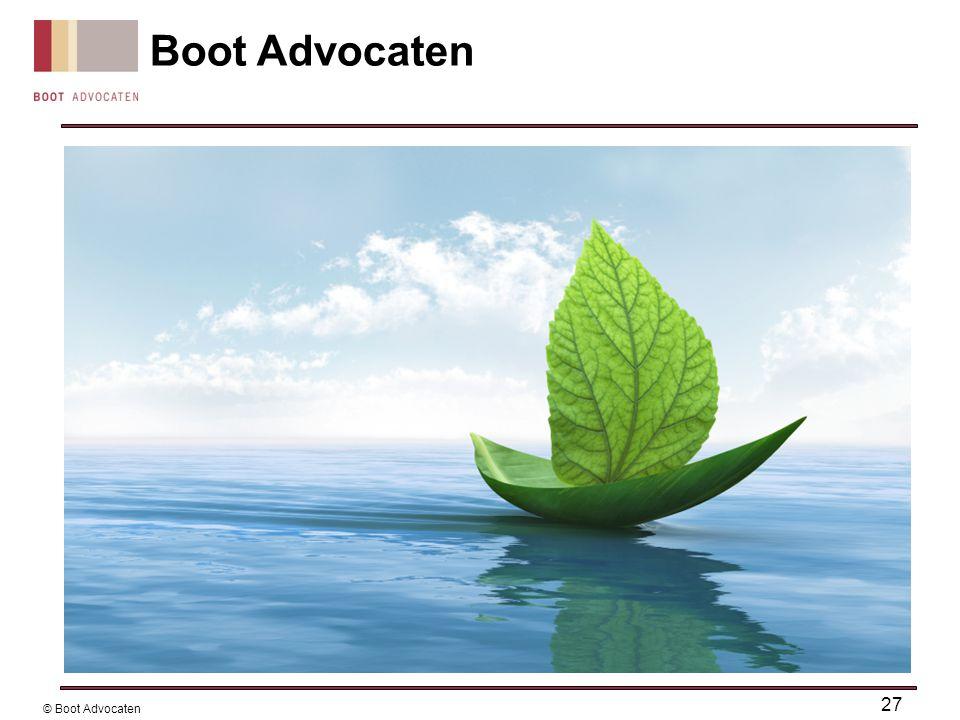 Boot Advocaten 27 © Boot Advocaten