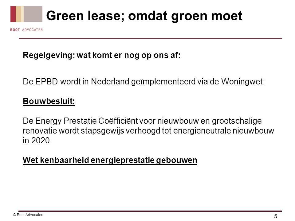 Regelgeving: wat komt er nog op ons af: De EPBD wordt in Nederland geïmplementeerd via de Woningwet: Bouwbesluit: De Energy Prestatie Coëfficiënt voor