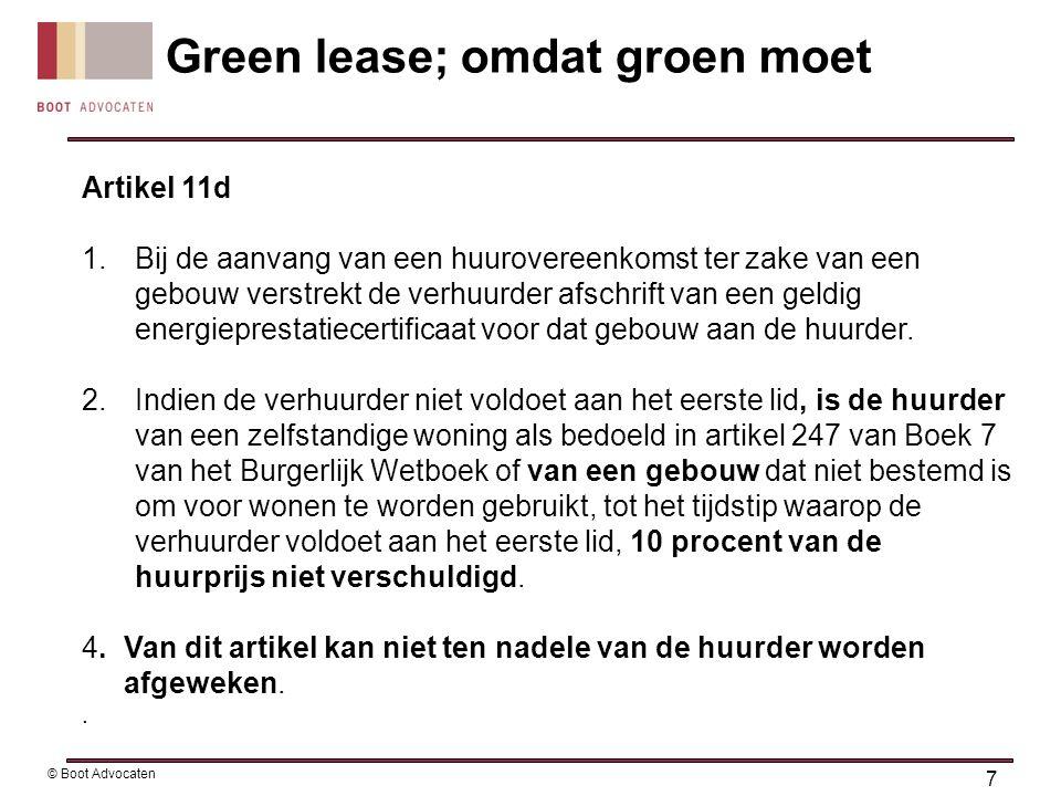 Artikel 11d 1.Bij de aanvang van een huurovereenkomst ter zake van een gebouw verstrekt de verhuurder afschrift van een geldig energieprestatiecertifi