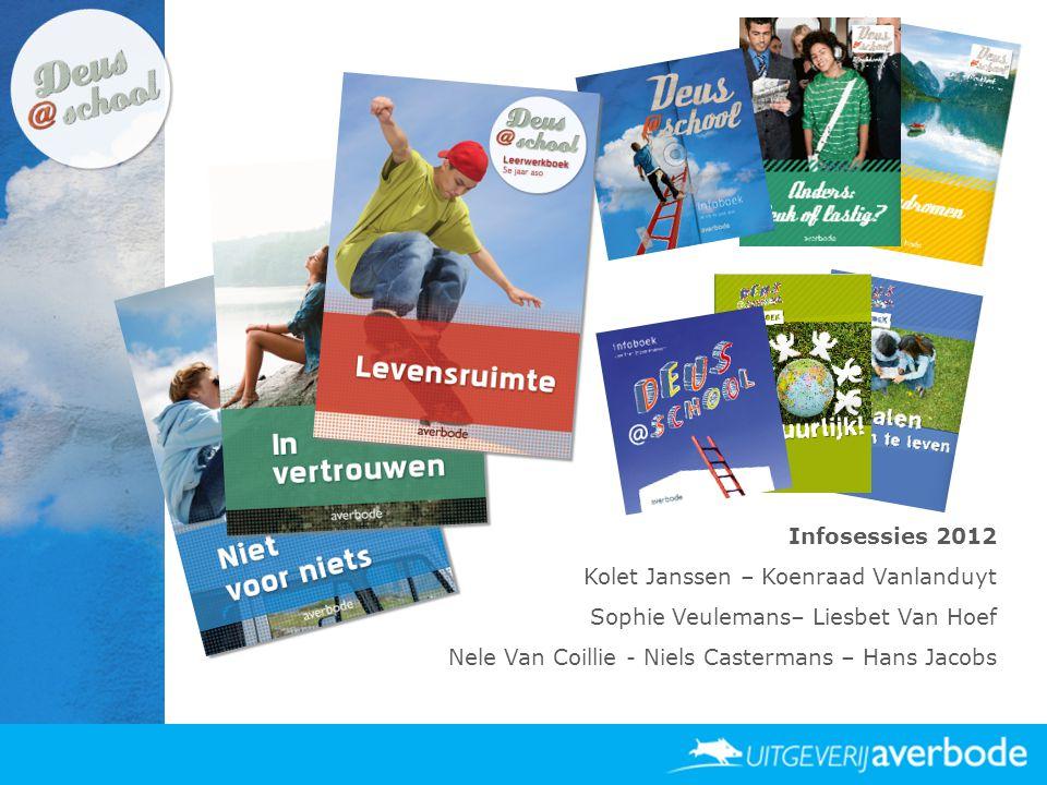 Infosessies 2012 Kolet Janssen – Koenraad Vanlanduyt Sophie Veulemans– Liesbet Van Hoef Nele Van Coillie - Niels Castermans – Hans Jacobs