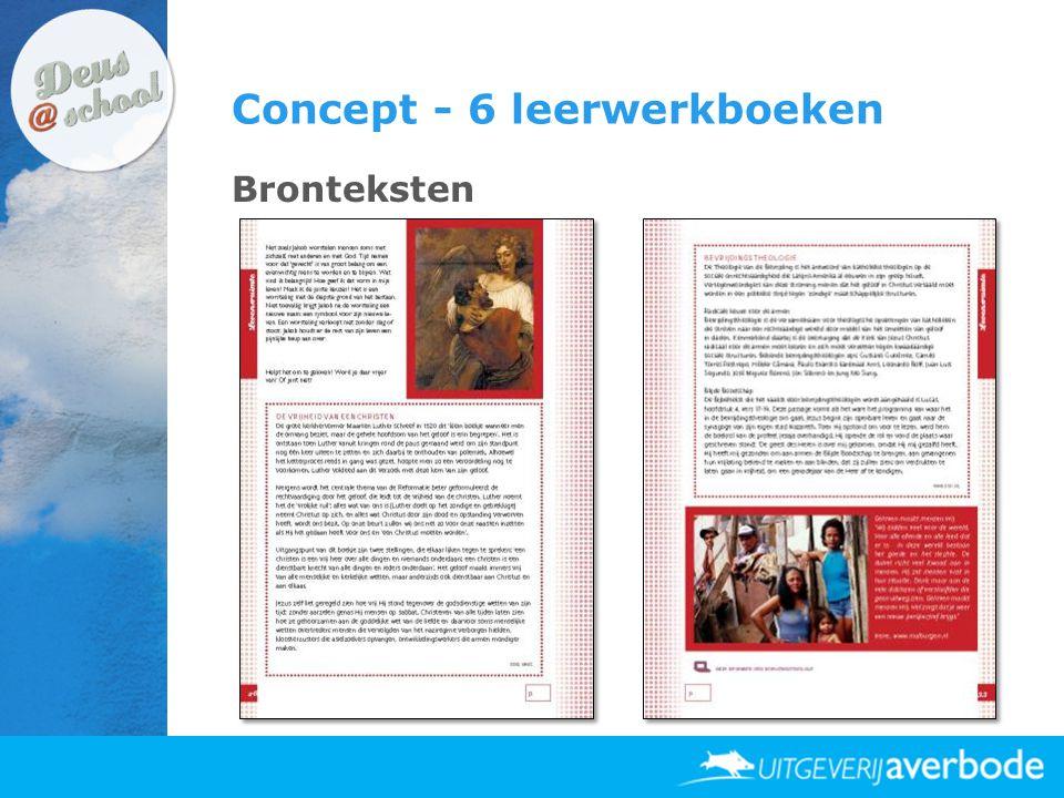 Concept - 6 leerwerkboeken Bronteksten