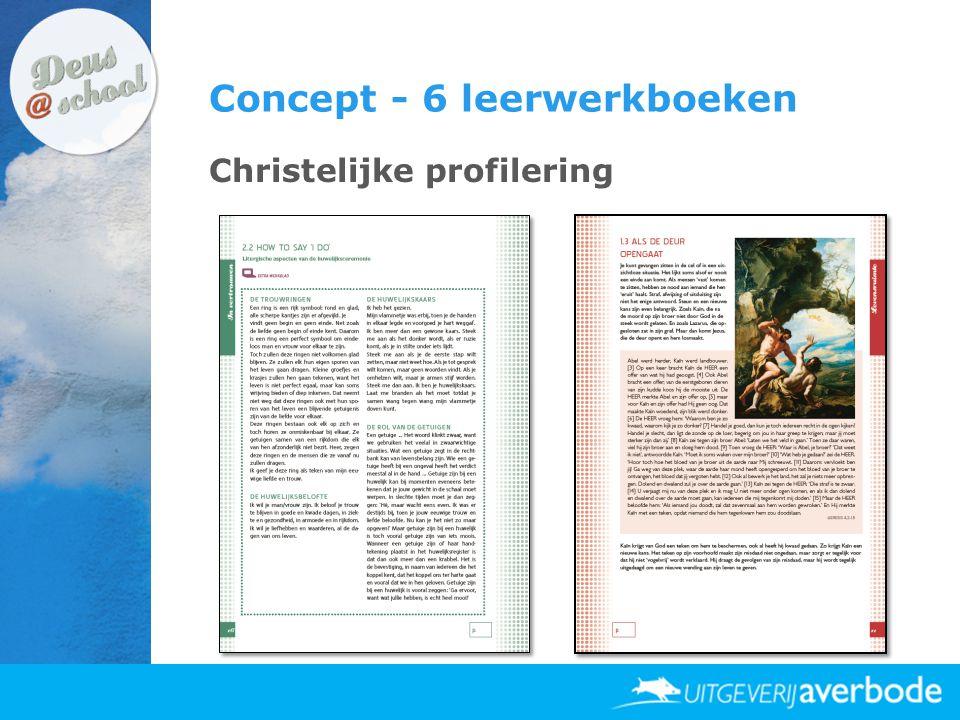 Concept - 6 leerwerkboeken Christelijke profilering