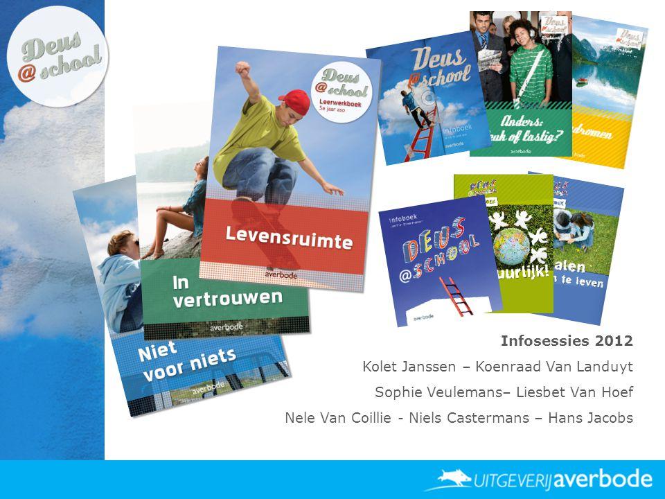 Infosessies 2012 Kolet Janssen – Koenraad Van Landuyt Sophie Veulemans– Liesbet Van Hoef Nele Van Coillie - Niels Castermans – Hans Jacobs