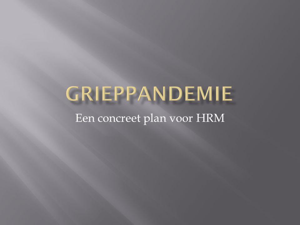 Een concreet plan voor HRM