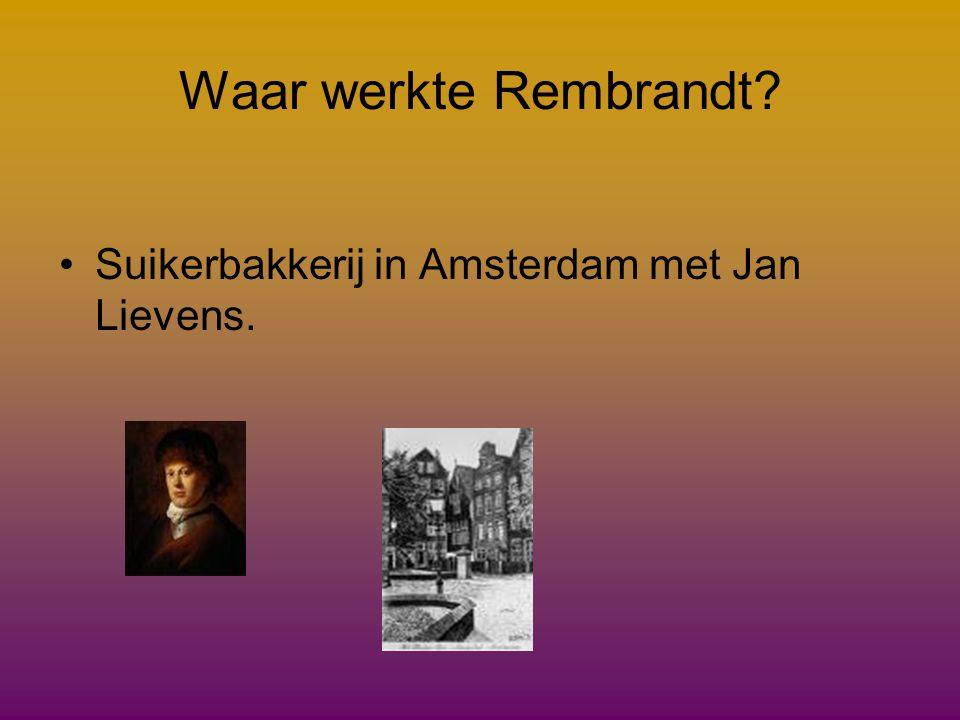 Hoe heten de opa en oma van Rembrandt. •Elisabeth van Terode •Allebei zijn ze 59 geworden •Willem Zuijtbroek