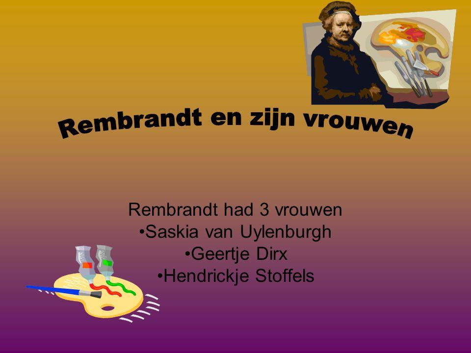 Waar en waneer overleed Rembrandt.•Rembrandt werd 63 jaar.