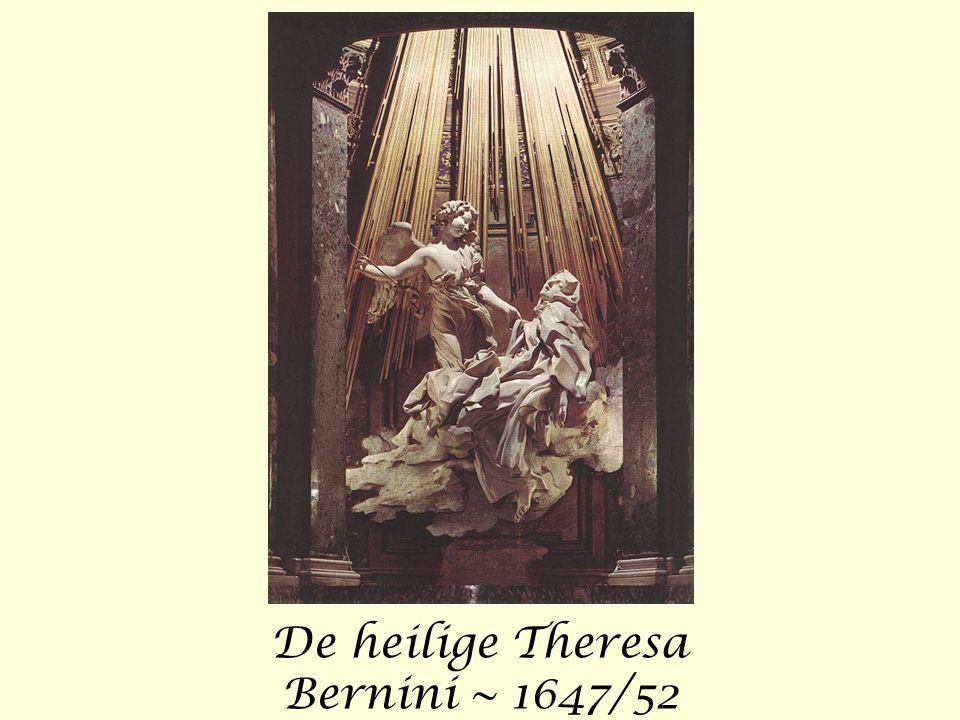 De heilige Theresa Bernini ~ 1647/52