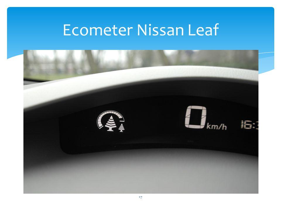 17 Ecometer Nissan Leaf