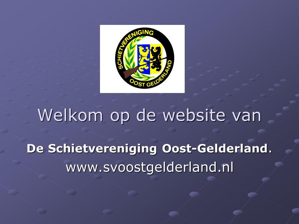 Welkom op de website van De Schietvereniging Oost-Gelderland. www.svoostgelderland.nl