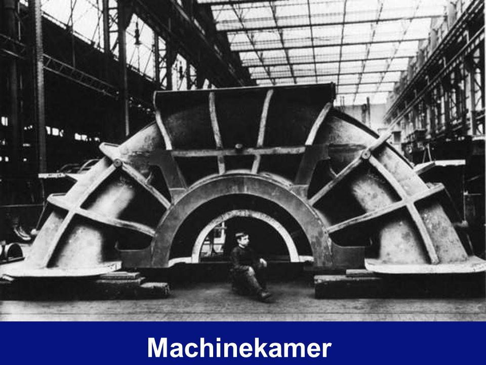 Rotor van de turbine