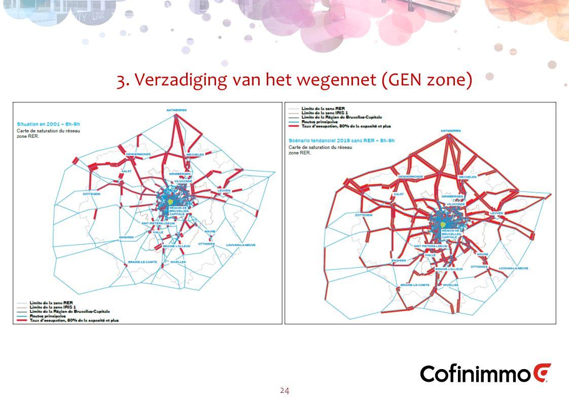3. Verzadiging van het wegennet (GEN zone) 24