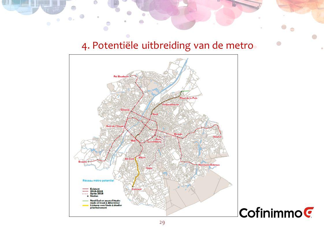 4. Potentiële uitbreiding van de metro 29