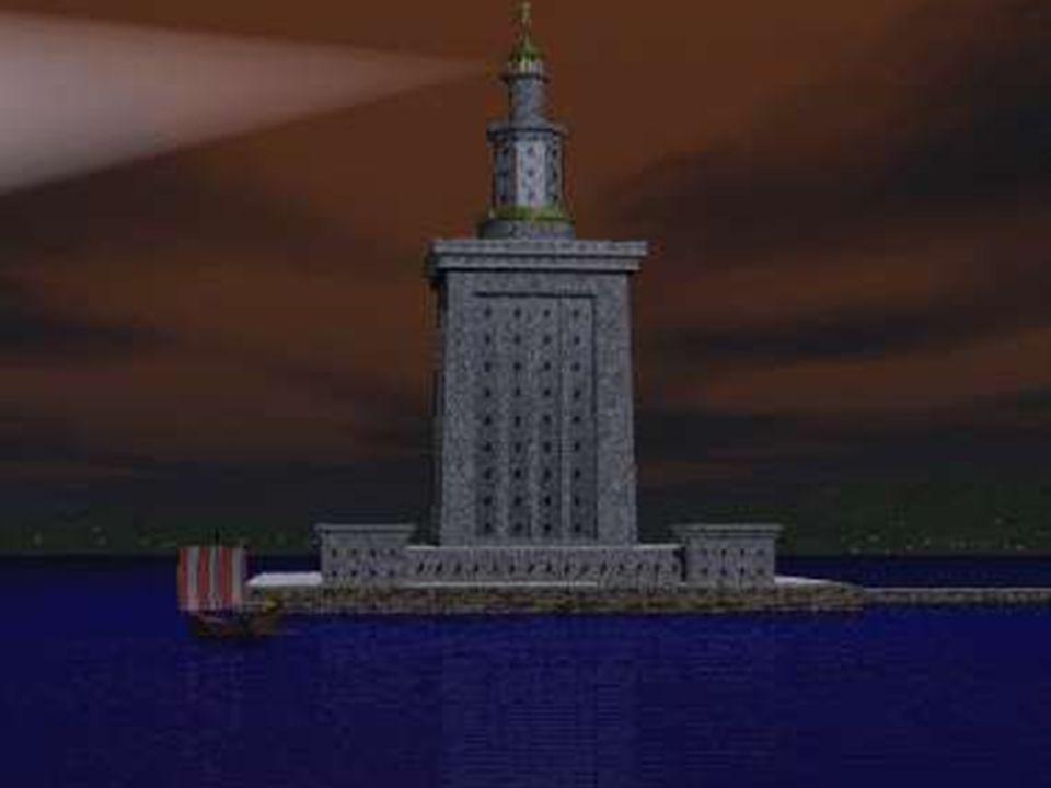 De 7 wereldwonderen 1. De vuurtoren van Pharos 2. De Artemistempel van Ephese