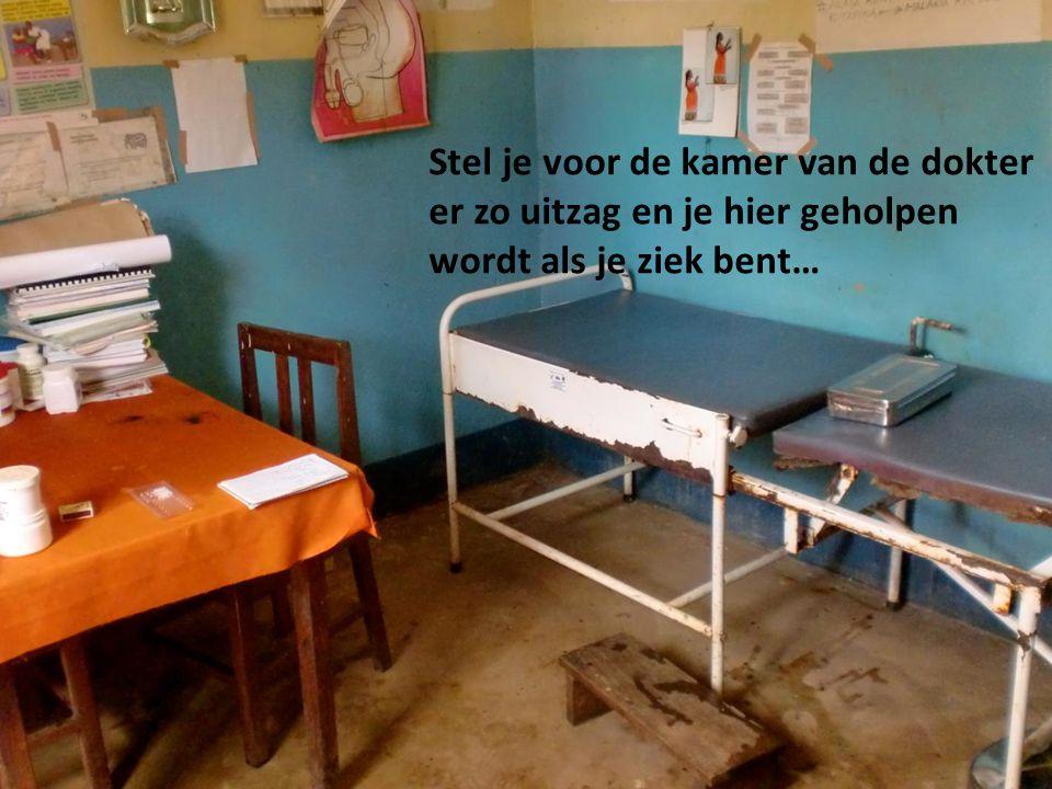 Stel je voor de kamer van de dokter er zo uitzag en je hier geholpen wordt als je ziek bent…