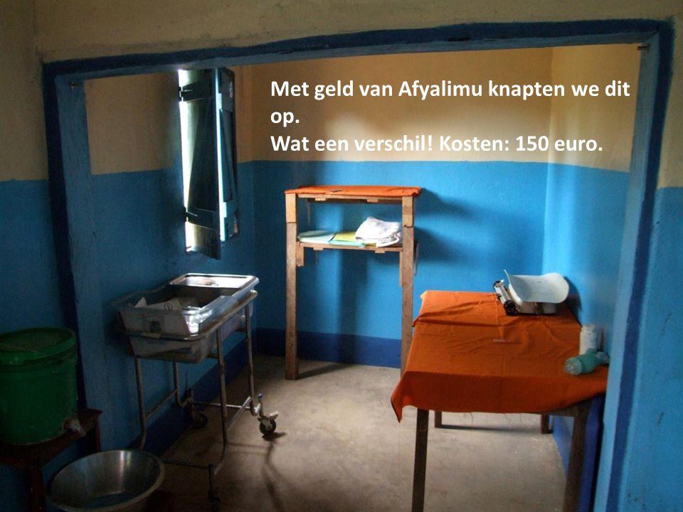 Met geld van Afyalimu knapten we dit op. Wat een verschil! Kosten: 150 euro.