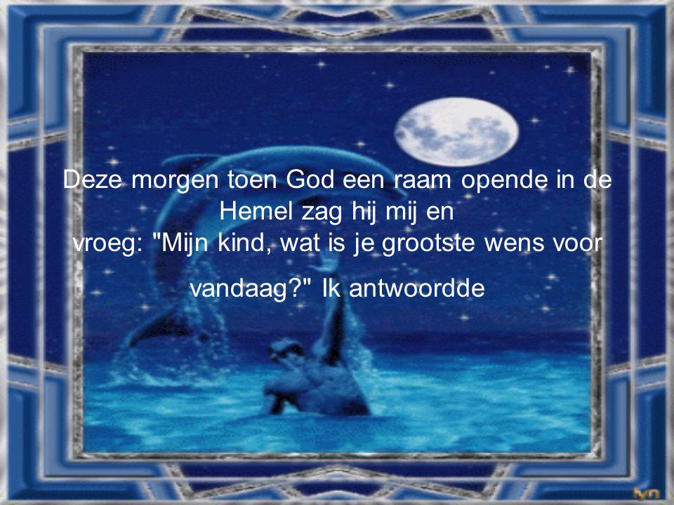 • God, zorg alstublieft goed voor de persoon die dit leest, zijn of haar familie en zijn of haar speciale vrienden.