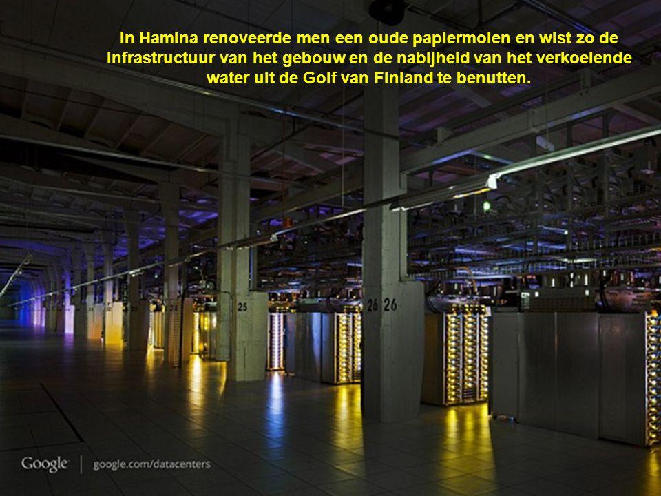 In Hamina renoveerde men een oude papiermolen en wist zo de infrastructuur van het gebouw en de nabijheid van het verkoelende water uit de Golf van Finland te benutten.