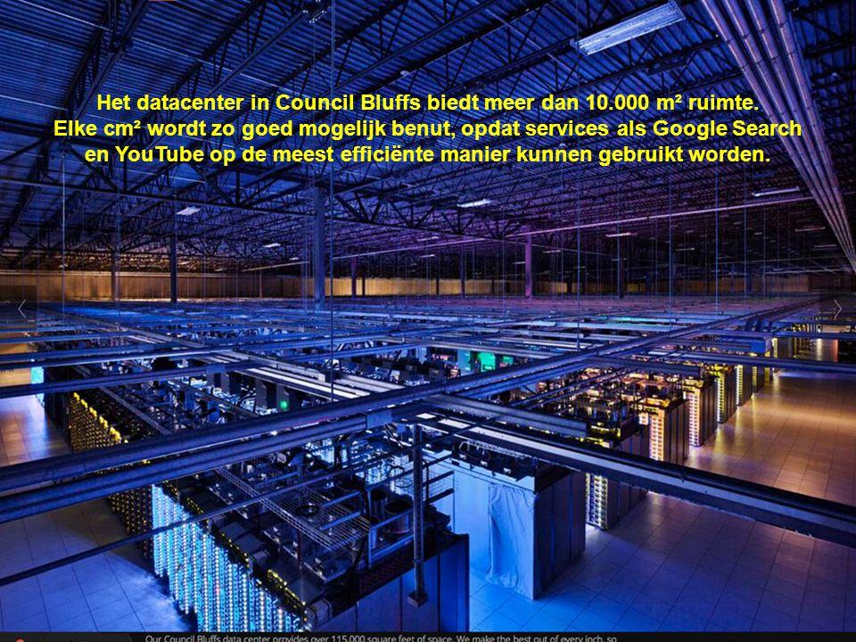 Het datacenter in Council Bluffs biedt meer dan 10.000 m² ruimte.