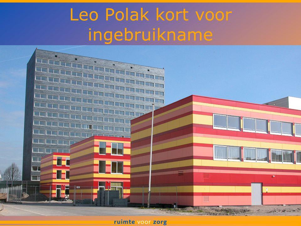 Leo Polak kort voor ingebruikname
