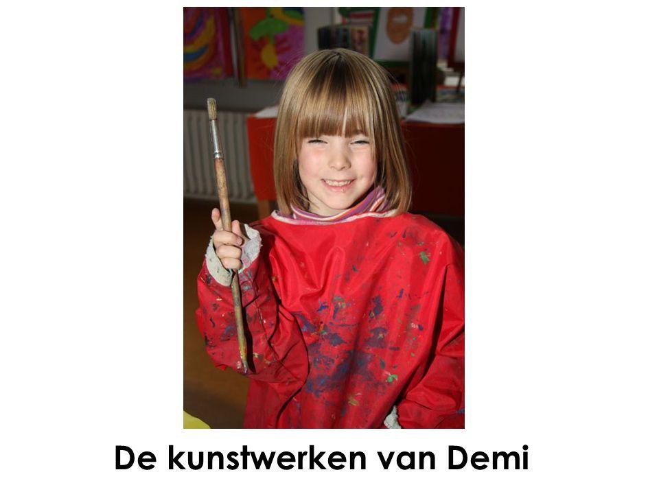 De kunstwerken van Demi