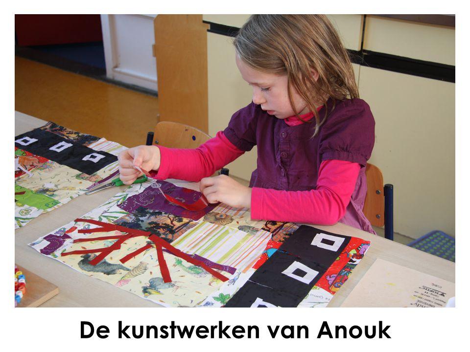 De kunstwerken van Anouk