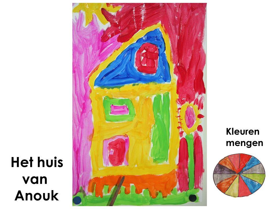 Het huis van Anouk Kleuren mengen