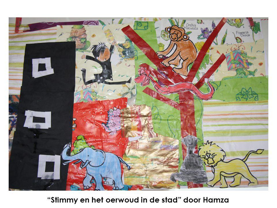 Stimmy en het oerwoud in de stad door Hamza