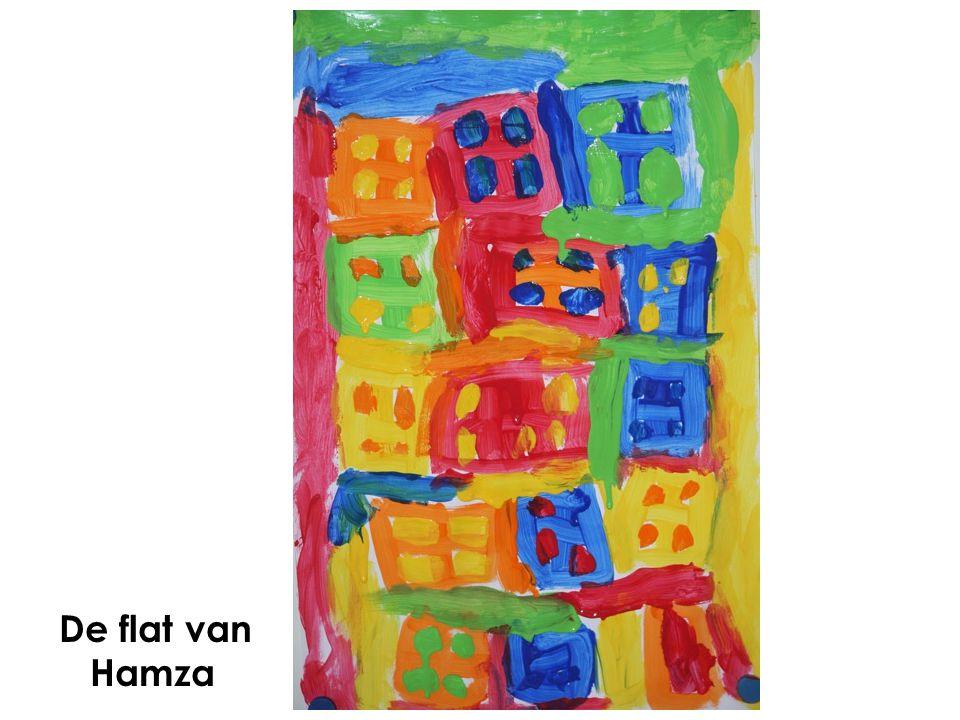 De flat van Hamza