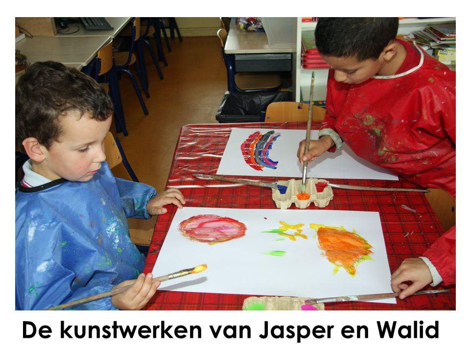 De kunstwerken van Jasper en Walid