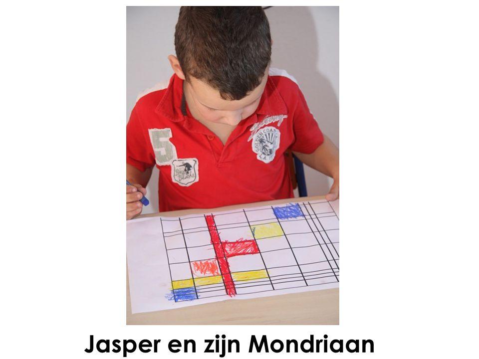 Jasper en zijn Mondriaan