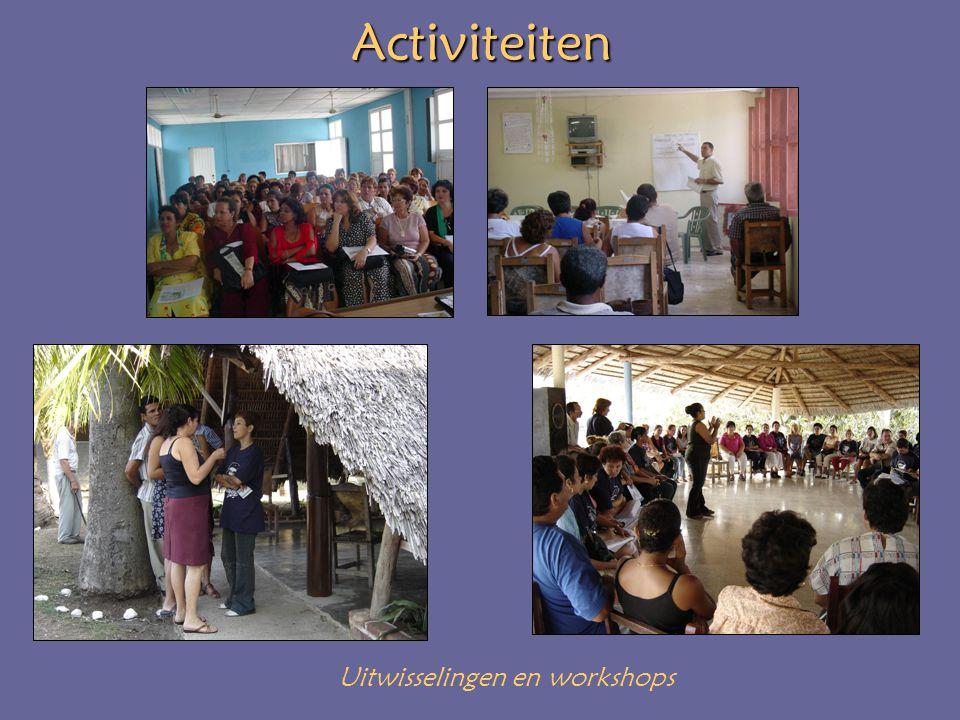 Activiteiten Uitwisselingen en workshops