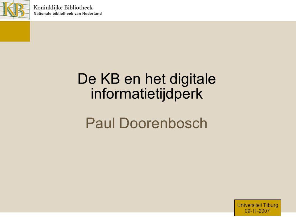 Koninklijke Bibliotheek – Nationale bibliotheek van Nederland
