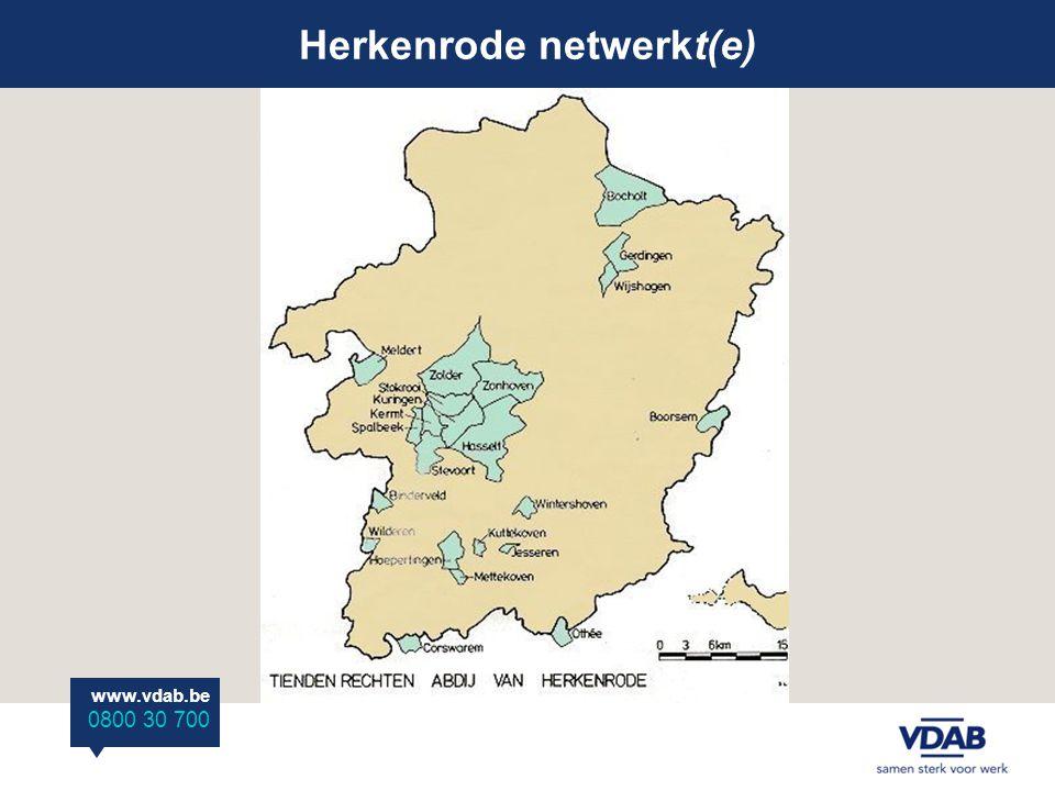 Herkenrode netwerkt(e) www.vdab.be 0800 30 700