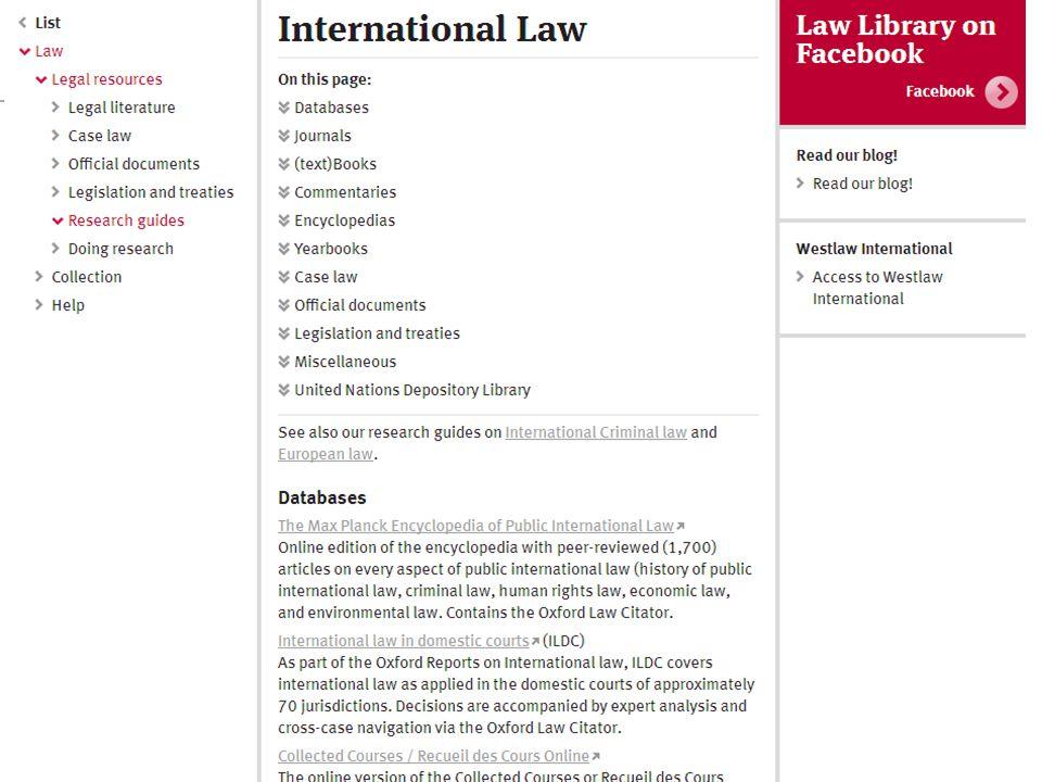Seminar Juridische Informatievaardigheden18