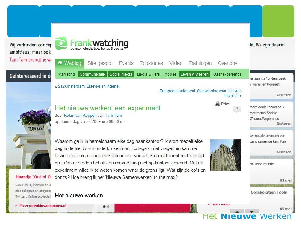 SharePoint: -full-text zoekmachine -ontsluiten van LOB middels BDC -aansluiting bij portal gedachte Ontolica: -verbeterde interface -toevoeging van filters -extra beheerlaag voor zoekfunctie Wat werkt 7 mei 2009 17