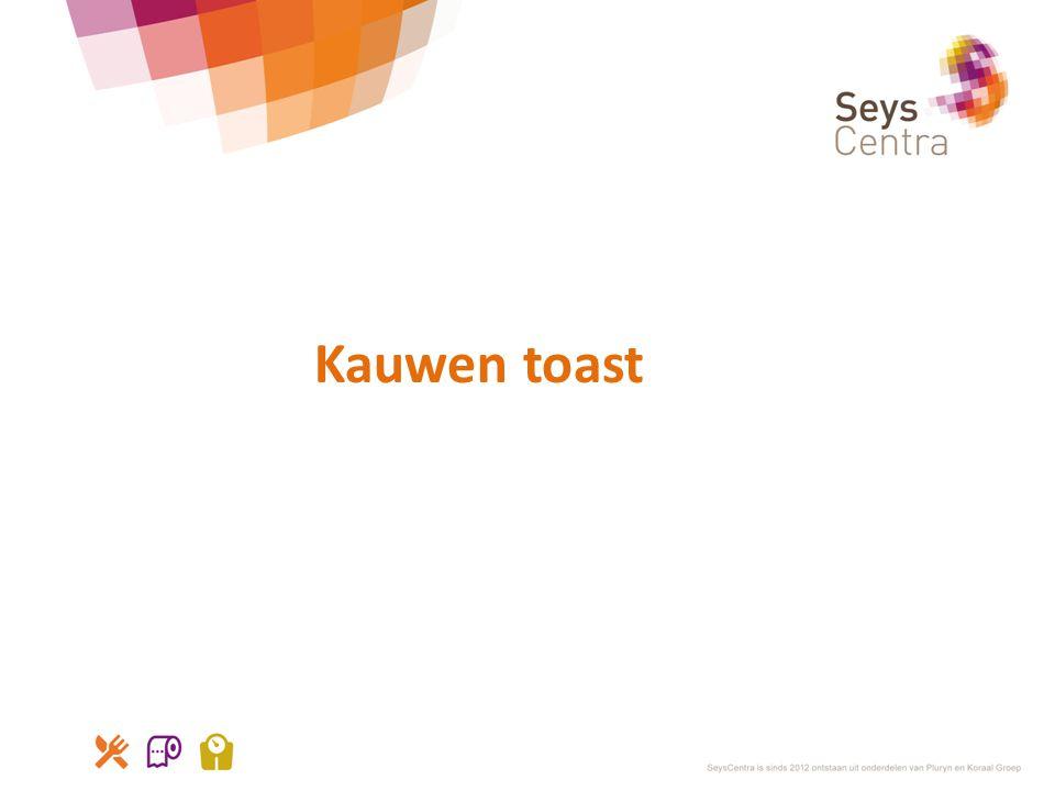 Kauwen toast