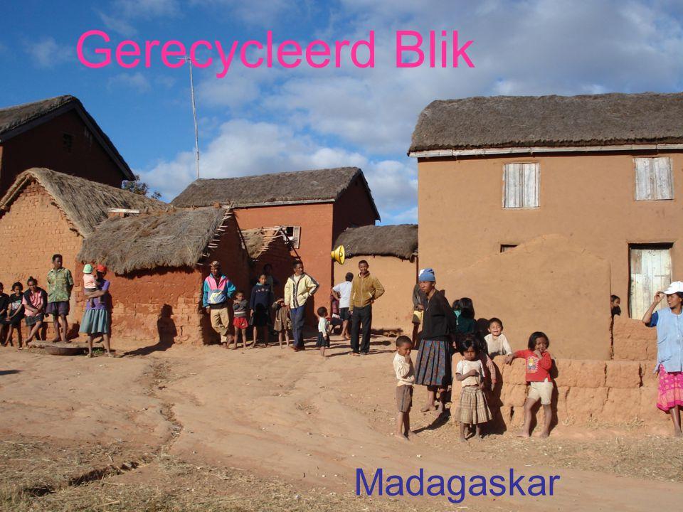 Recycled Blik MADAGASKAR Gerecycleerd Blik Madagaskar