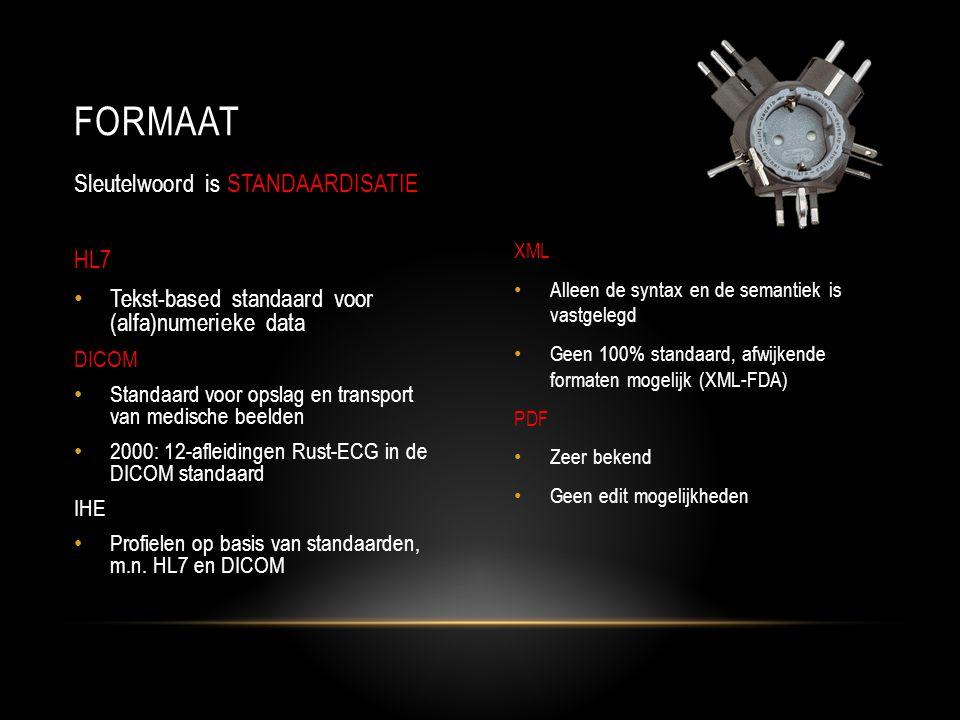 ECG WORKFLOW IN NL • In Nederland is men sinds het ontstaan van ECG, 100 jaar geleden, gewend om ad hoc, ongepland, te werken.
