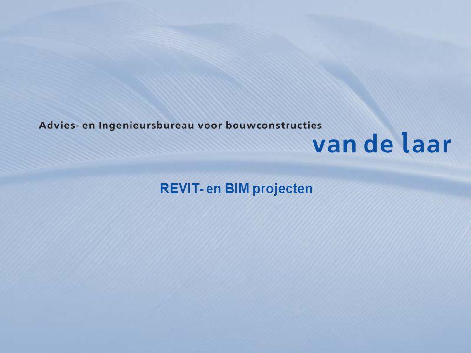 REVIT- en BIM projecten