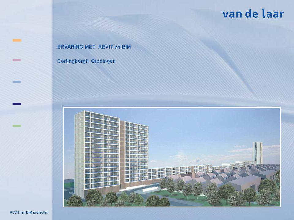 REVIT- en BIM projecten ERVARING MET REVIT en BIM Cortingborgh Groningen
