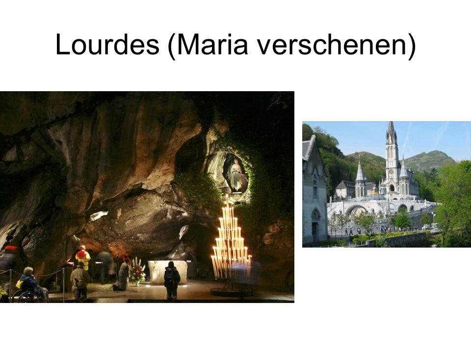 Lourdes (Maria verschenen)