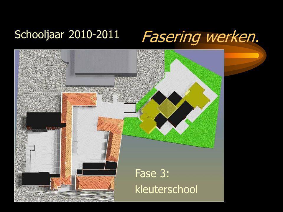 Fasering werken. Fase 3: kleuterschool Schooljaar 2010-2011